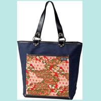 Tote bag (CHIRIMEN Red)