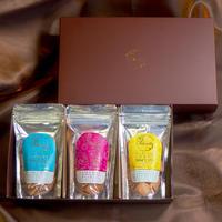 【定期購入】お米の恵み・グルテンフリーギフトセット(いちじく&レーズン・ココナッツ・ゆず&レモン)