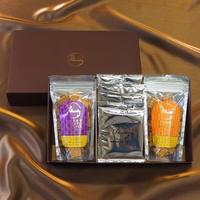 【New】有機コーヒー・小麦の恵みギフトセット(にんじん・かぼちゃ・さつまいも)