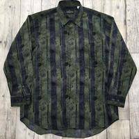 メンズ古着  柄シャツ[035]