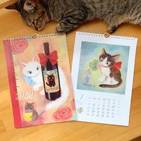 Ribbon Cat カレンダー 2020