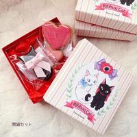 Ribbon Cat 天然色素のアイシングクッキー(ボックス入り)