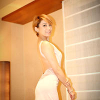 Pink bunny backless dress