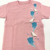 沖縄★海の生き物たち★フォーカート★子供Tシャツ★全2色★ピンク