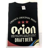沖縄オリオンビールTシャツ・ドラフト缶デザイン・黒