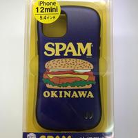 沖縄限定★iPhone12miniケース★5.4インチ★SPAMバーガー★