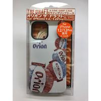 沖縄「オリオンビール」のiPhone12・12pro用ケース★ちょうちん柄