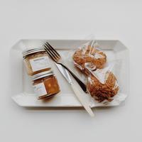 seasonal jam ( Banana, Apple & Yuzu ) × Bran Scone