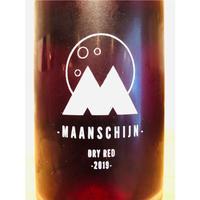 🍷ナチュラルワイン(赤)🍷  MAANSCHIJN dry red 2019 / ムーンシャイン ドライレッド (南アフリカ)