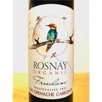 🇦🇺オーガニックワイン (赤)🇦🇺    ROSNAY ORGANIC / Freedom Grenache Carignan 2018     🍀【BIO】酸化防止剤無添加