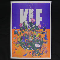 KLF ISLAND  RISO PRINT POSTER