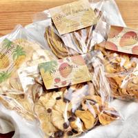 【BIG&eco】ナチュラルドライフルーツ:マンゴー・パイナップル・バナナ・ミックス  <無添加・無加糖・フェアトレード> ✫小袋5個分・10% ¥270お得 ✫