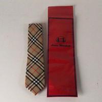 Burberrys バーバリーズ ウール100% ノバチェック・ネクタイ ロンドン三越購入品 デッドストック未使用品 袋有り イングランド製 made in England