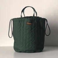 NAPRON ナプロン  QUILTING PATIENTS BAG キルティングペーシェンツバッグ  グリーン   新品同様  中古極美品. 日本製