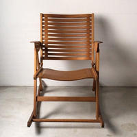 REX レックス ヴィンテージフォールディングロッキングチェア Niko Kralj ニコクラリ デザイン ミッドセンチュリー家具 椅子 Impakta インパクタ社製 中古良品