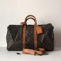 LOUIS VUITTON ルイヴィトン  モノグラム  キーポル45 バンドリエール  M41418  ヴィンテージ 80s  2way ボストンバッグ  鞄  made in france