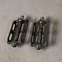 ヴィンテージ ペダル 自転車用オールドパーツ レトロパーツ スチールペダル 鉄製ペダル メーカー不明 60s