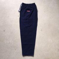 タイのモンペ インディゴ染めのサイドデカポケットゆったりパンツ  ユニセックス約160〜165cm  made in thailand 未使用品