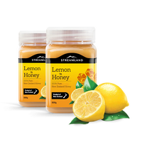 【暖かいお飲み物のお供に】ニュージーランド レモンハニー 500g