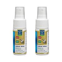 【のどの乾燥・口臭予防に便利なのどスプレー】MGO400+ マヌカハニー&BIOプロポリス ナチュラル抗菌のどスプレー×2個セット