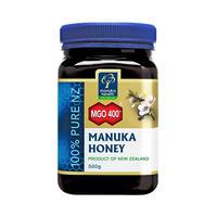 リピーター多数!マヌカハニ―MGO400+ 500g ManukaHealth マヌカヘルス