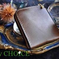 イタリアンオイルレザーアリゾナ・L型財布(オリーブ)