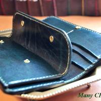 革の宝石ルガトー長財布(緑)