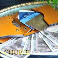 イタリアンバケッタ・エルバマット・コンパクト2つ折り財布(ミモザ)