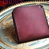 イタリアンレザー・革新のプエブロ・L型財布(コッチネラ)