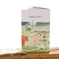 Herrmann's ベストセットBOX入り(ピュアサーモン、チキンディッシュ、ホースディッシュ)