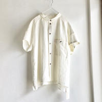 chibi-collar half-sleeve shirt