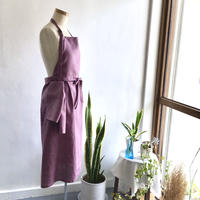 mom Apron with Cloth  ( violet )