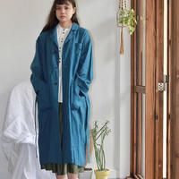 Oversized Linen Work Coat
