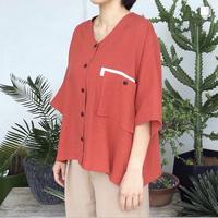 loosey goosey shirt  (red)