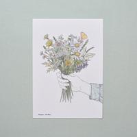 POSTCARD/ size B6 / Flower