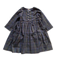 doll style dress - multi check