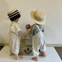BABY: salopette vintage stripes