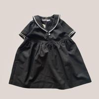 KIDS : sailor dress - BLACK