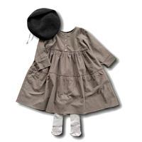doll style dress - GRAY