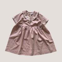 KIDS : sailor dress 110cm, 120cm- PINK