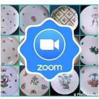 【E】zoom彩色チャイナペインティング認可レッスン