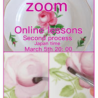 "『zoomマイセンローズ2回目』""Zoom Meissen Rose 2st,"