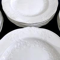 Aマルセイユ レリーフ皿21㎝(入荷7枚)