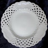 マルセイユ 透かし皿21㎝