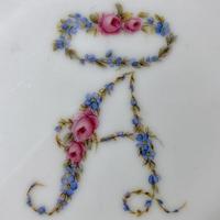 花文字アルファベッド(王冠・小花のセット)小サイズ