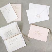 サンプル:結婚式 招待状 サンサールシリーズ