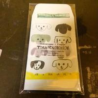 トラネコボンボンミニ封筒+カードセット(dog)