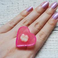 Sedmikrasky 歯ーとリング ピンク