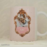 """うちのこの写真で作る!オリジナルマグカップ""""Lovely Mug""""  デザインタイプ:     KiKi(キキ)"""