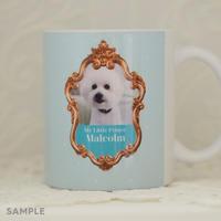 """うちのこの写真で作る!オリジナルマグカップ""""Lovely Mug""""  デザインタイプ: Malcolm(マルコム)"""